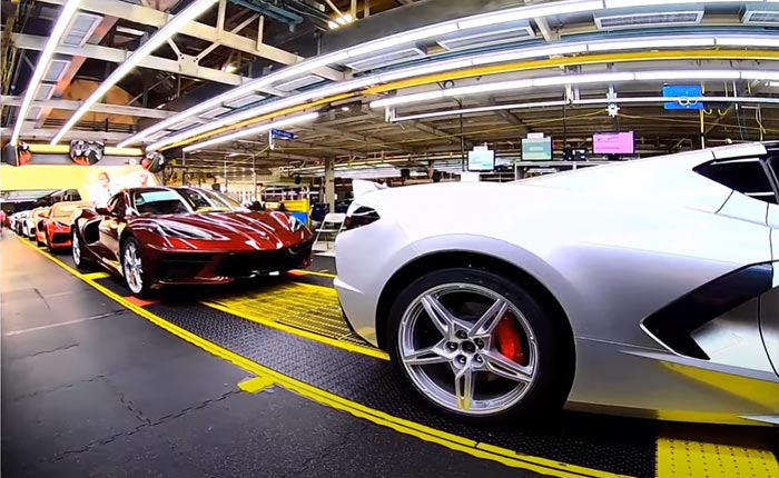 [VIDEO] Corvette Assembly Plant Manager Demystifies the C8 Corvette's Order and Build Process