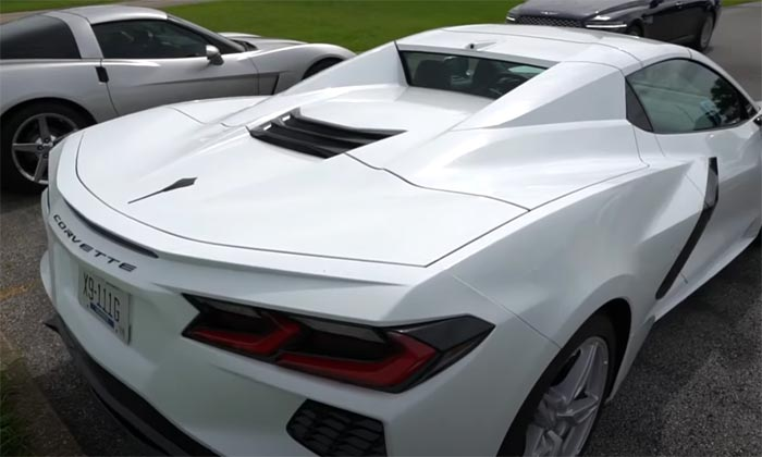 [VIDEO] Arctic White 2020 Corvette Convertible Projects a White-Out Look With Its Body-Colored Nacelles