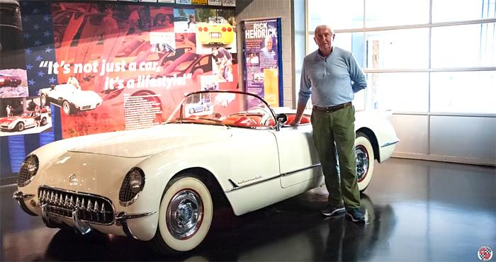 [VIDEO] 1954 Corvette Donated to the National Corvette Museum