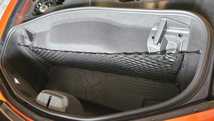 The 2020 Corvette Stingray Coupe Trunk
