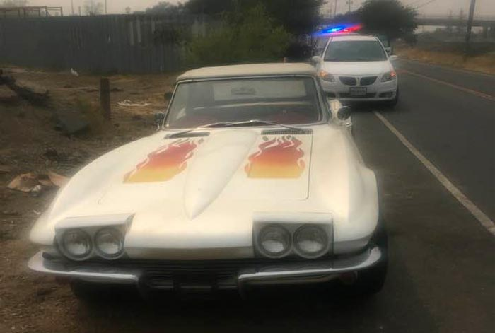 [STOLEN] 1963 Corvette Recovered After Theft from California Body Shop