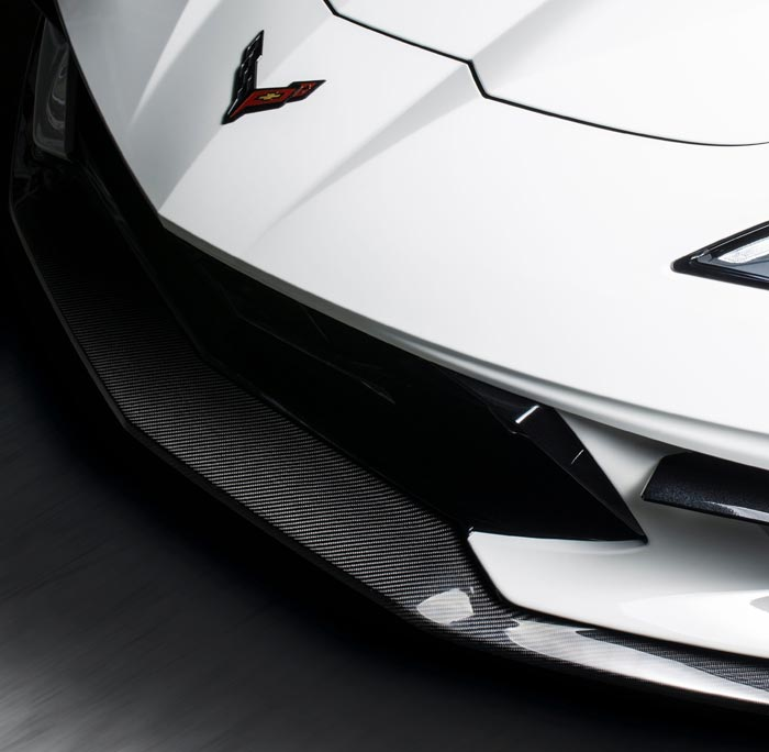 [VIDEO] Carbon Fiber Front Splitter for the C8 Corvette from Racing Sport Concepts