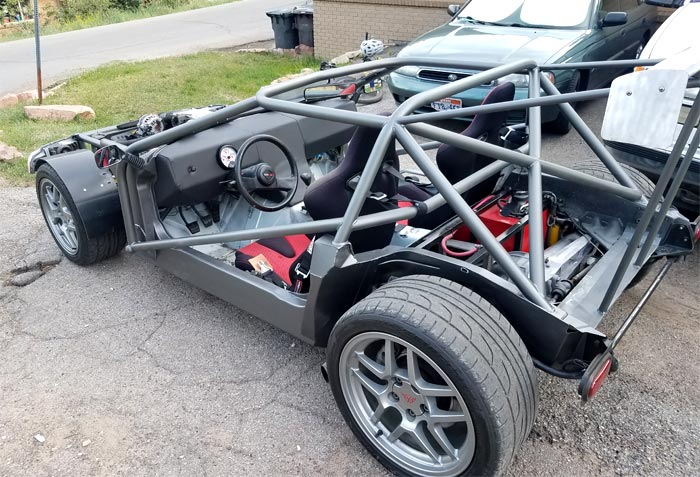 [PICS] Utah Man Strips Down a C4 Corvette For the Ultimate Lightweight Driving Experience
