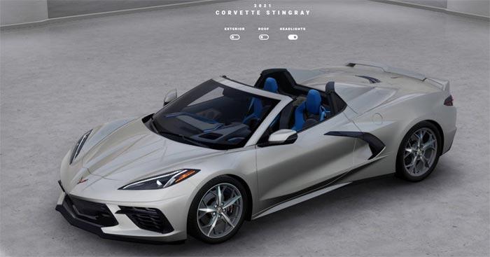 2021 Corvette Visualizer is Now Online