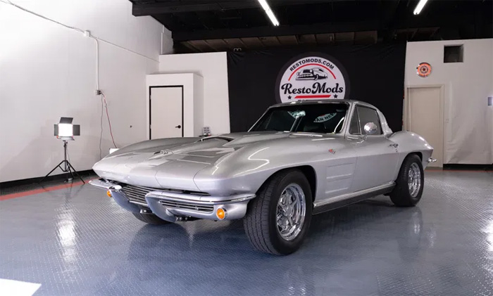 [VIDEO] Join Restomods.com to Win this 1964 Corvette or Take $50,000 in Cash