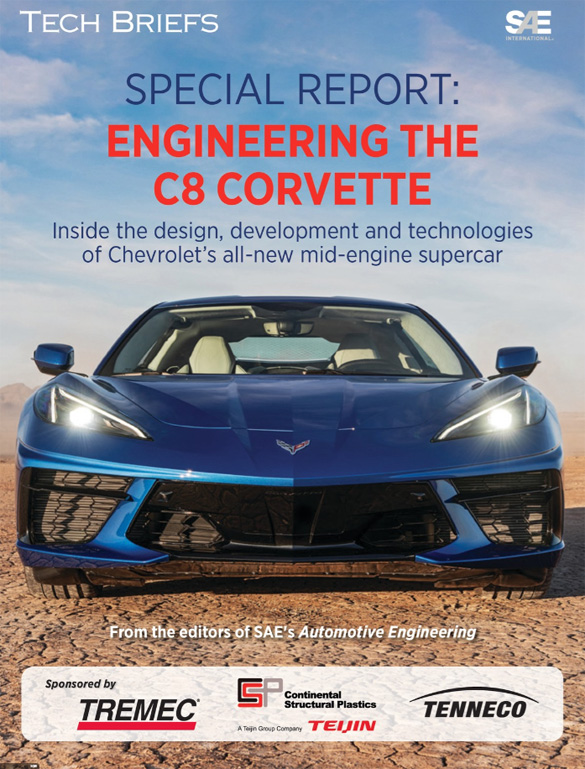 SAE Magazine Offers Special Engineering Edition for the C8 Corvette
