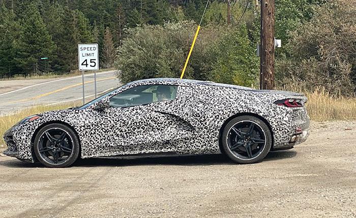 [PICS] Same C8 Corvette Prototype...Different Day