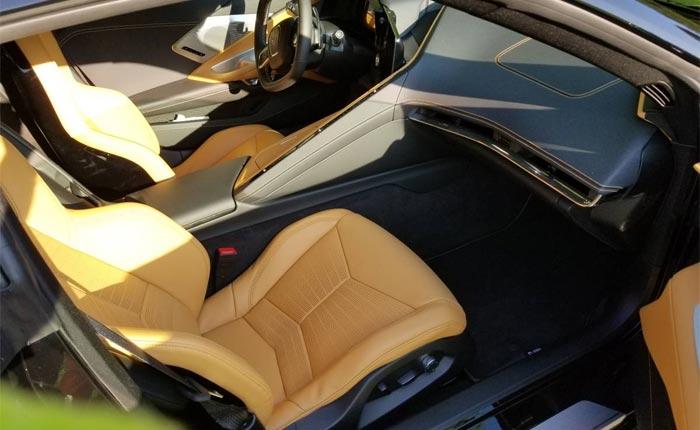 Corvettes on Craigslist: 2020 Black Corvette Stingray for $186,000
