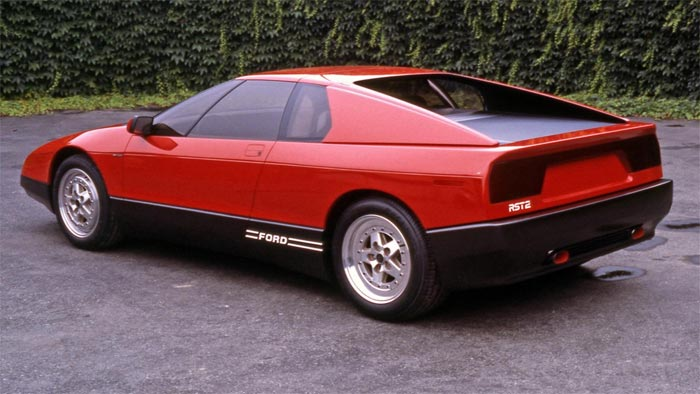 Ford Nearly Greenlit a Mid-Engine Corvette Fighter in the 80s