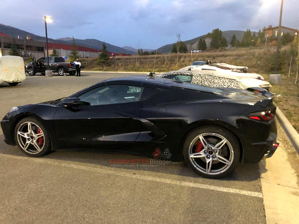 [SPIED] C8 Corvette Prototypes Are Parked For The Evening