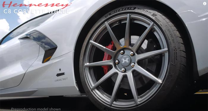 [VIDEO] Hennessey Performances Offers Lightweight Custom Wheels for the C8 Corvette