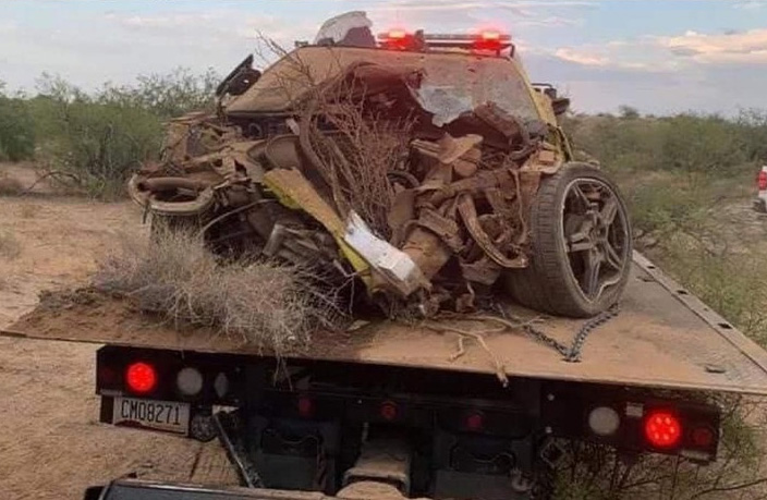 [ACCIDENT] Accelerate Yellow 2020 Corvette Is All Smashed Up