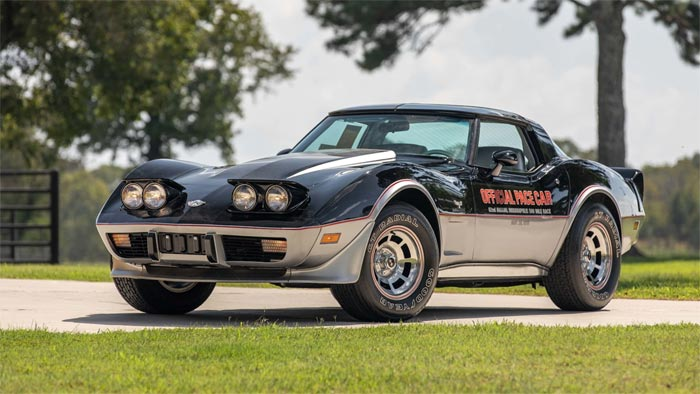 The Low Mile Corvette Pace Car Collection to be Offered at Mecum's Dallas Sale