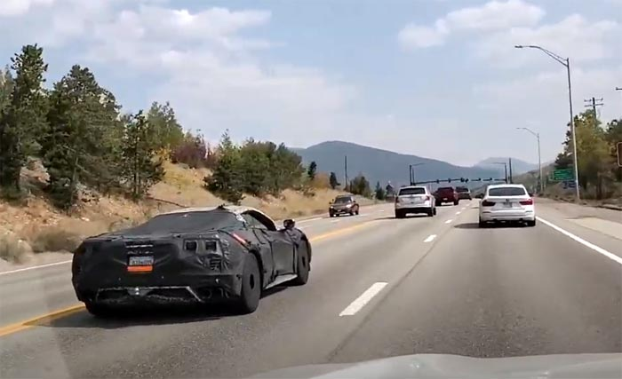 [SPIED] Two 2022 Corvette Z06 Prototypes on the Road
