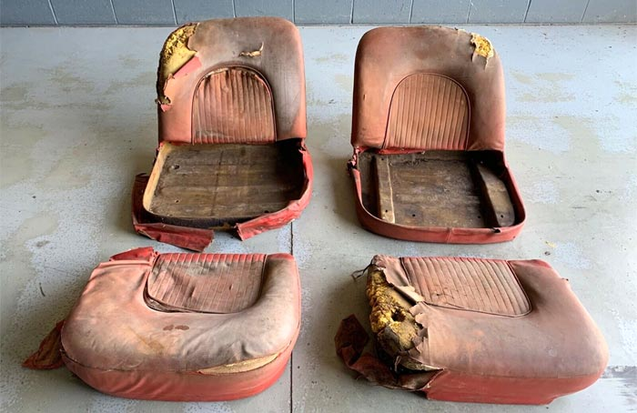 You Can Buy The Original Seats from GM's 1953 Motorama Corvette