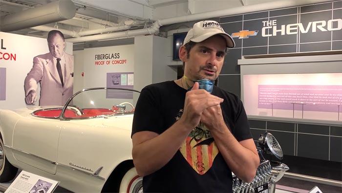 [AUDIO] Country Music's Brad Paisley Isn't a Very Good Corvette Salesman