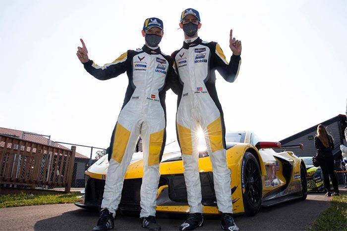 Corvette Racing at Mid-Ohio: Garcia, Taylor Pace 1-2 Finish for Corvette C8.R