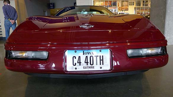 The Corvette Vanity Plates from Bloomington Gold 2020