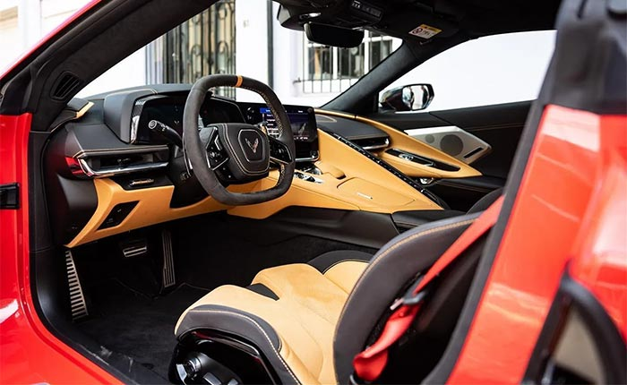 First 2020 Corvette Stingray Touches Down in the U.K.