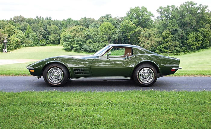 Couple Donates 1970 Corvette Owned for 48 Years to the National Corvette Museum