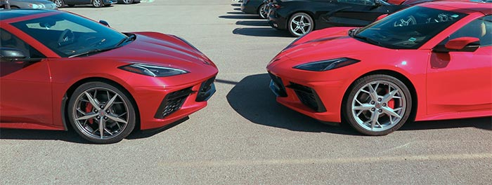 2021 Corvette in Red Mist Metallic Spotted in Michigan