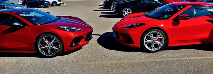 [SPIED] 2021 Corvette in Red Mist Metallic Spotted in Michigan