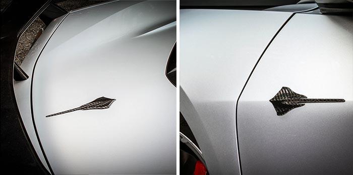 Nowicki Autosport Releases New Concept8 C8 Carbon Fiber Door & Hatch Badges