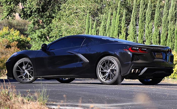 [PICS] 2020 Corvette Wearing Vertini RFS1.9 Custom Wheels Finished in Brushed Dual Gunmetal