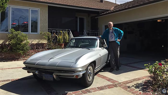 Bob's Old Corvette