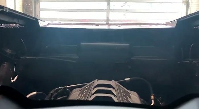 [VIDEO] C8 Corvette Goes Through an Automatic Car Wash