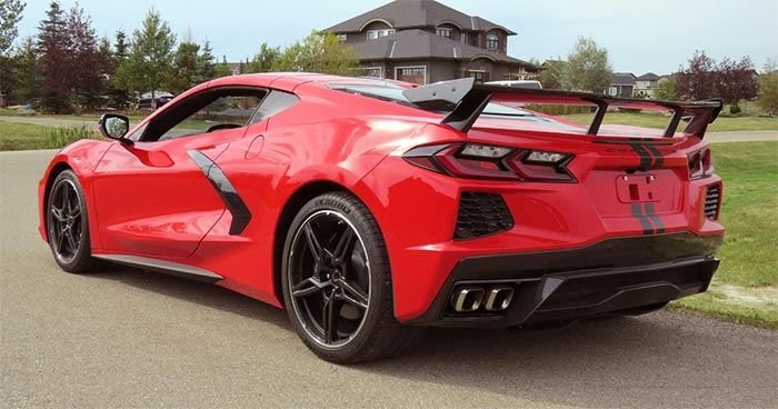 Barrett-Jackson's Scottsdale Fall Sale is Your Chance to Nab a High-Wing 2020 Corvette