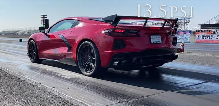 [VIDEO] First 2020 Corvette to Make a 9-Second Pass