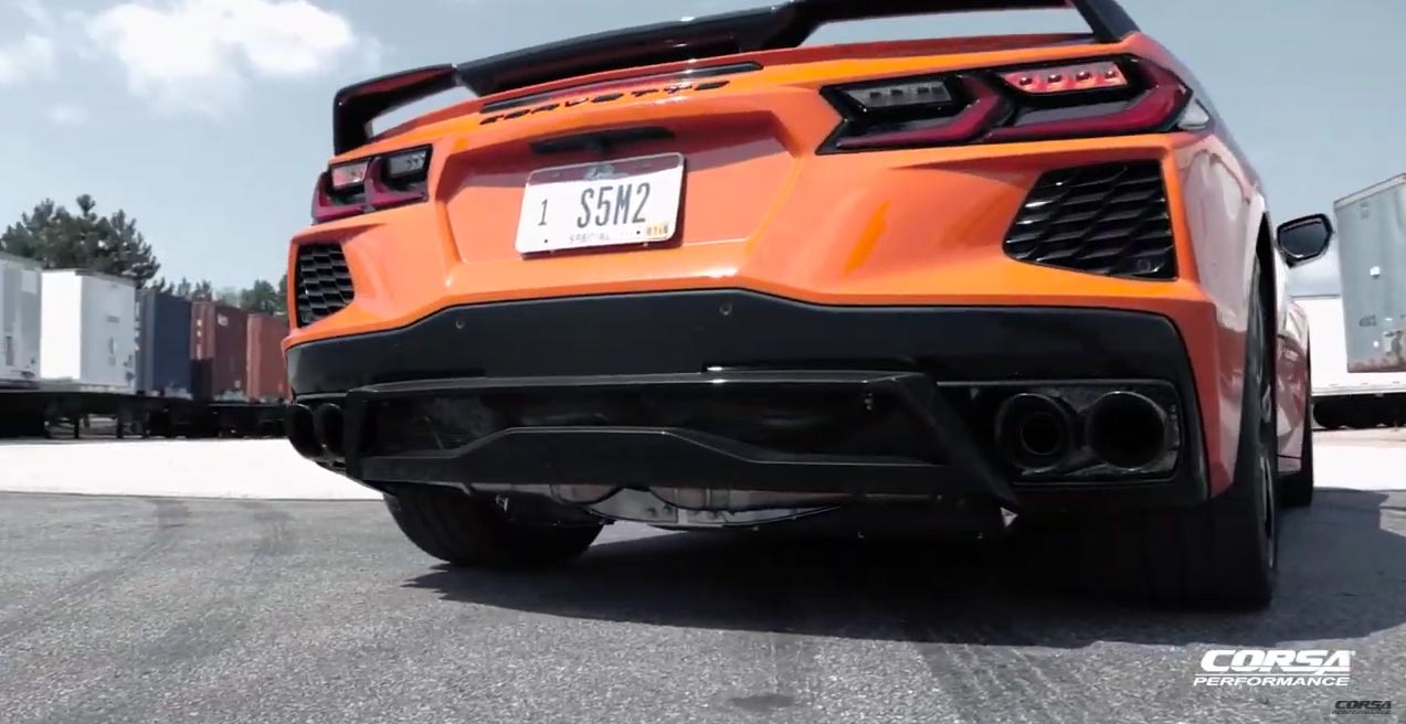 [VIDEO] CORSA Previews the Sound of Their New C8 Corvette Exhaust System