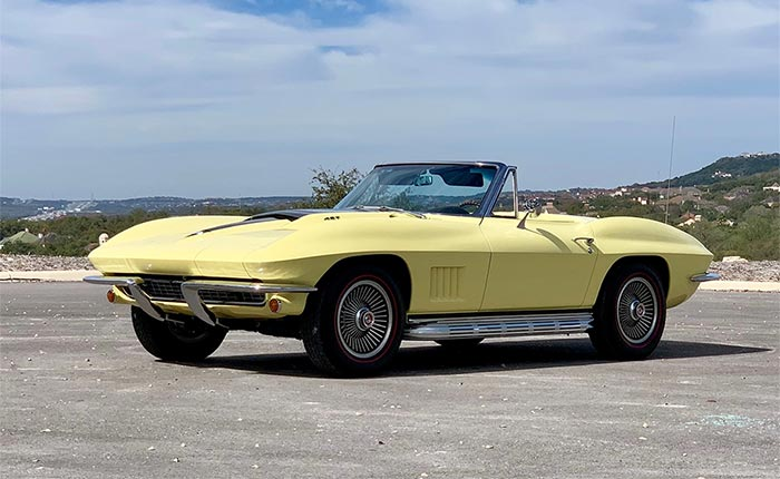 Corvettes For Sale 1967 Corvette Convertible On Bring A Trailer Corvette Sales News Lifestyle