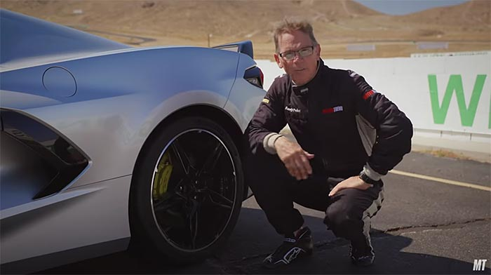 [VIDEO] Randy Pobst Track Tests the C8 Corvette with Inferior Tires