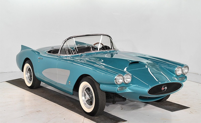 Corvettes for Sale: You Can Own a George Barris 'Kustom' 1958 Corvette