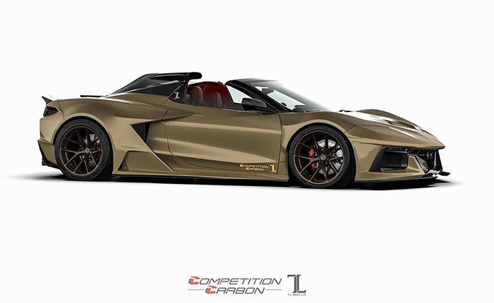 [PICS] Competition Carbon's C8RR Widebody Kit Offers a Bold Take on the C8 Corvette