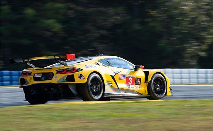 Corvette Racing at Road Atlanta: Garcia, No. 3 Corvette Take Pole Position