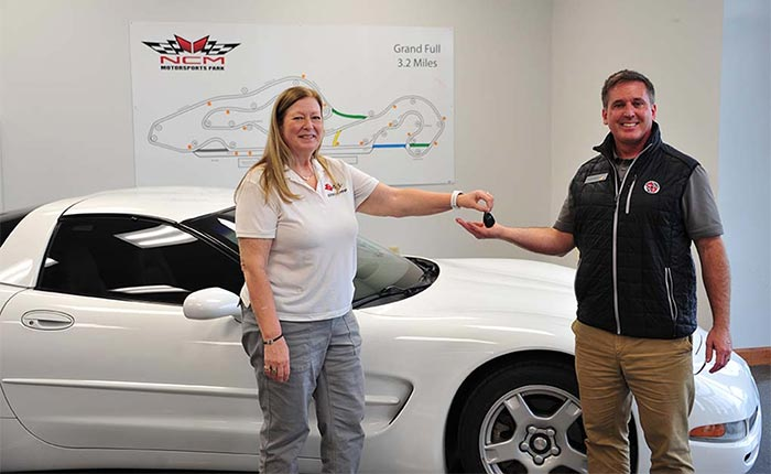 [VIDEO] 1999 Corvette Donated to the NCM Motorsports Park's Youth Driving Program