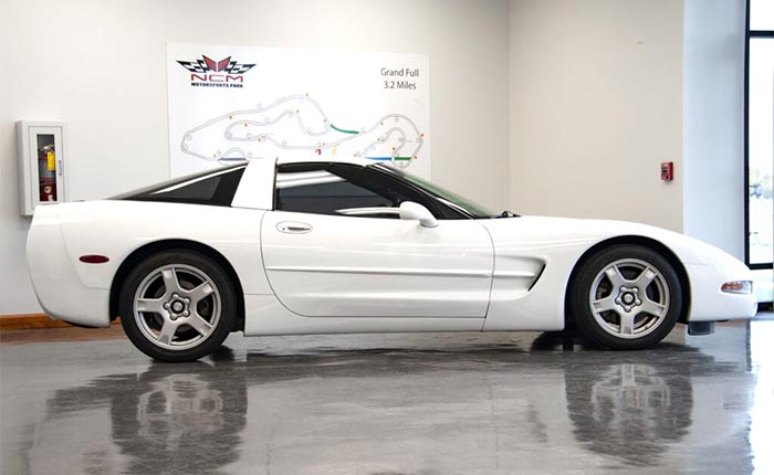 1999 Corvette Donated to the NCM Motorsports Park's Youth Driving Program