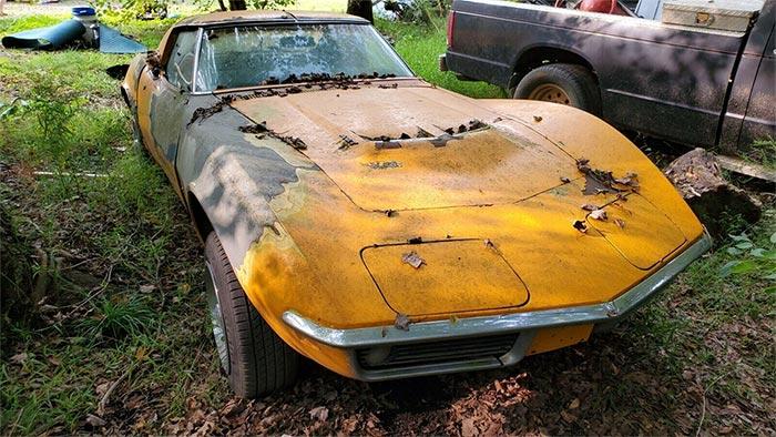 Corvettes on eBay: 1969 Corvette 427 Field Car