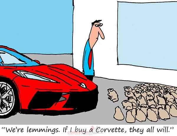 Saturday Morning Corvette Comic: Join the Club!
