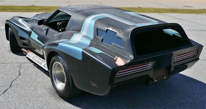 Corvettes on E-bay: 1970 Corvette Widebody Sport Wagon