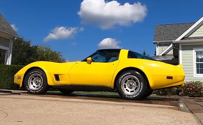 [VIDEO] Man Buys Abandoned 1980 Corvette and Has It Running A Few Hours Later