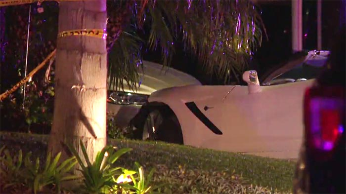 [STOLEN] Carjacker Apprehended After Crashing a Corvette into a Fire Hydrant