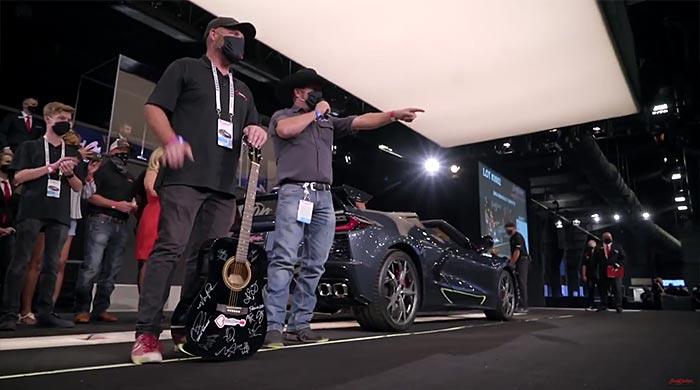 2020 Corvette sells at Barrett-Jackson