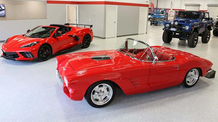 Win a 1962 Corvette AND a 2020 Corvette AND $45,000 to Pay the Taxes!