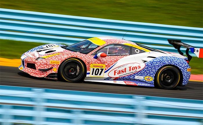 Ferrari 488 Challenge Racer