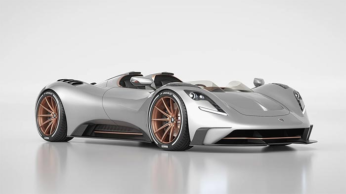 [PICS] ARES Design Unveils Hypercar Speedster Based on the C8 Corvette