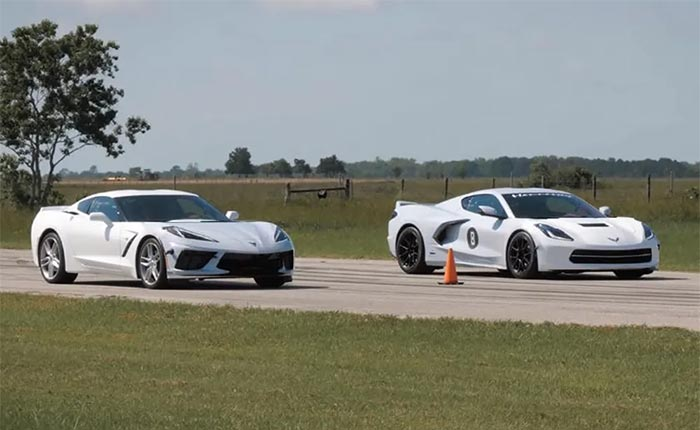[PIC] Face-Swapped C7 and C8 Corvettes Actually Look Pretty Good